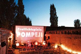 freiluftkino pompeji
