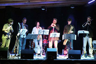 Konzert Big Band Theatersaal