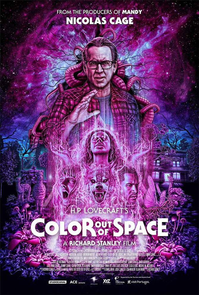 Color Out of Space Film Nicolas Cage Poster